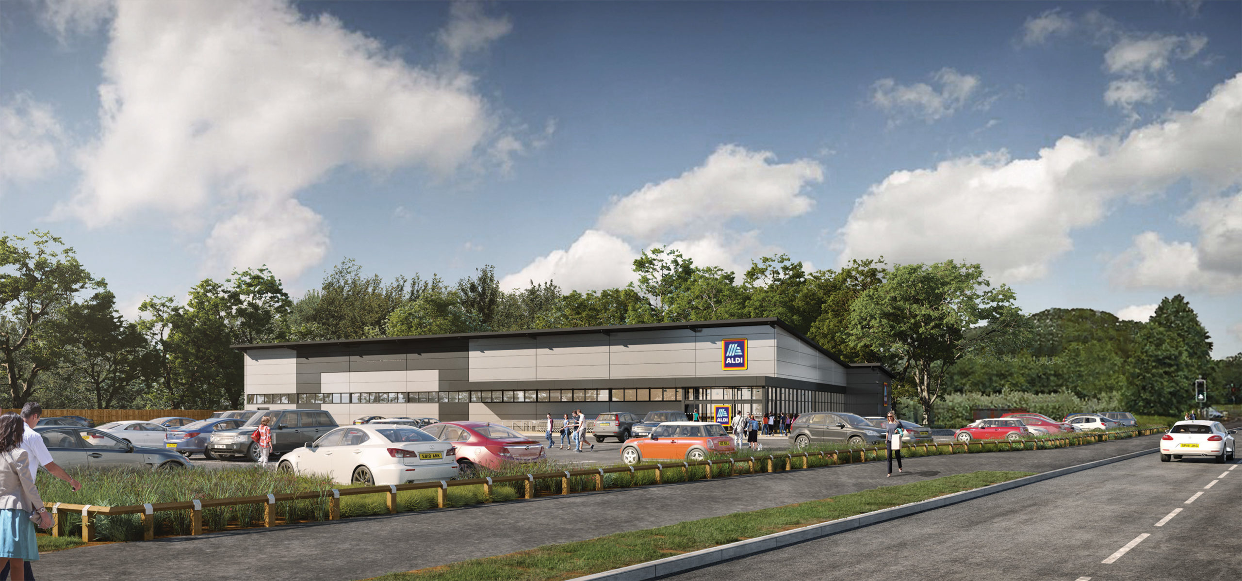 New Aldi Store for Maghull CGI